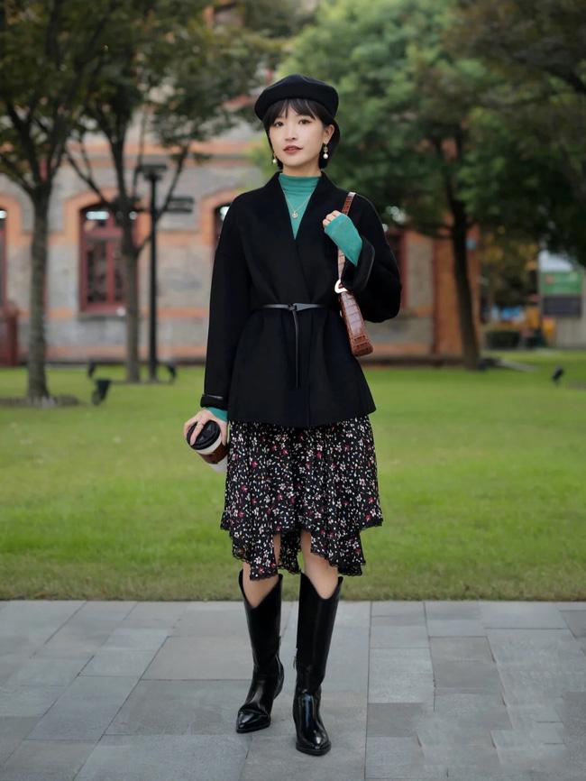 Street style Châu Á: Học được cả loạt cách mix đồ hay ho để Tết này chẳng lo mặc xấu-11