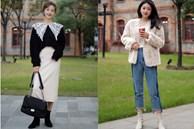 Street style Châu Á: Học được cả loạt cách mix đồ hay ho để Tết này chẳng lo mặc xấu