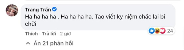 Trang Trần hưởng ứng màn đấu tố của quản lý cũ Hương Giang, gây sốc khi dùng từ ngữ thô tục để nhắc đến nàng Hậu-3