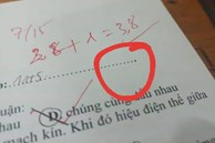 Đọc đề xong học sinh hí hửng tưởng chép được bài nhau, ai ngờ xỉu lên xỉu xuống vì mã đề quá cao tay của thầy giáo