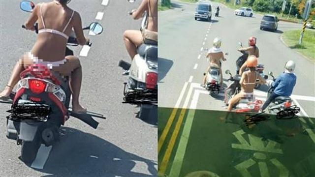 Mặc đồ lót ra đường còn thản nhiên diễu phố, 3 cô gái khiến dân tình vô cùng phẫn nộ-2