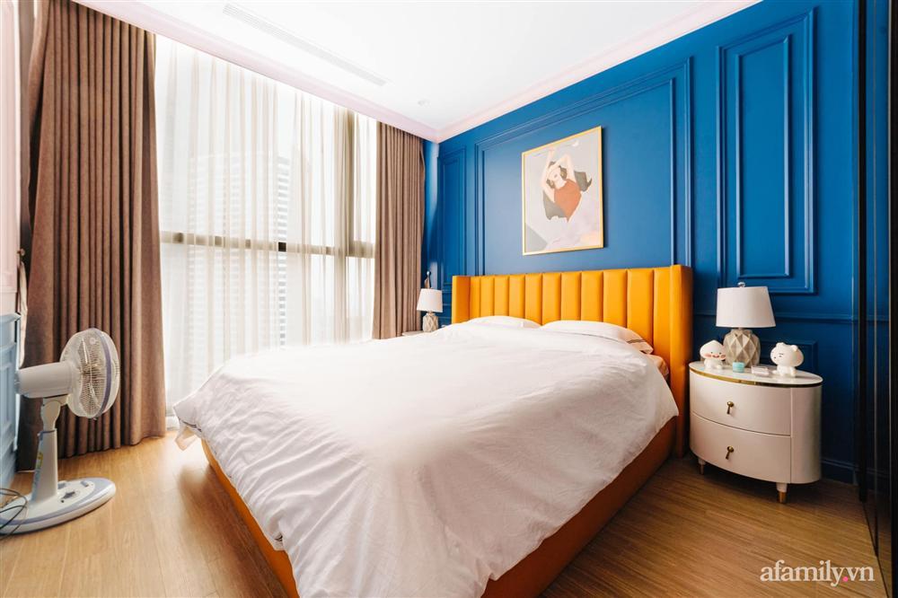 Căn hộ 45m² đẹp không góc chết với điểm nhấn là hai gam màu xanh hồng cực chất có chi phí hoàn thiện 200 triệu đồng ở Hà Nội-20
