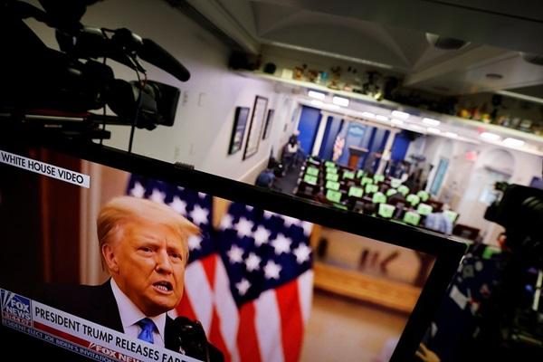 Ông Trump chia tay dân Mỹ, chúc người kế nhiệm may mắn-2