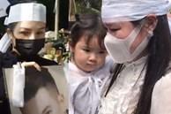 Lễ an táng ca sĩ Vân Quang Long tại Đồng Tháp: Linh Lan bật khóc cùng con gái xuất hiện ở lễ tang