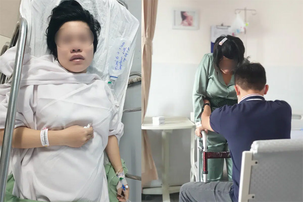 Chồng sản phụ 'tố' bác sĩ bệnh viện phụ sản tự ý gây tê khiến vợ liệt nửa người
