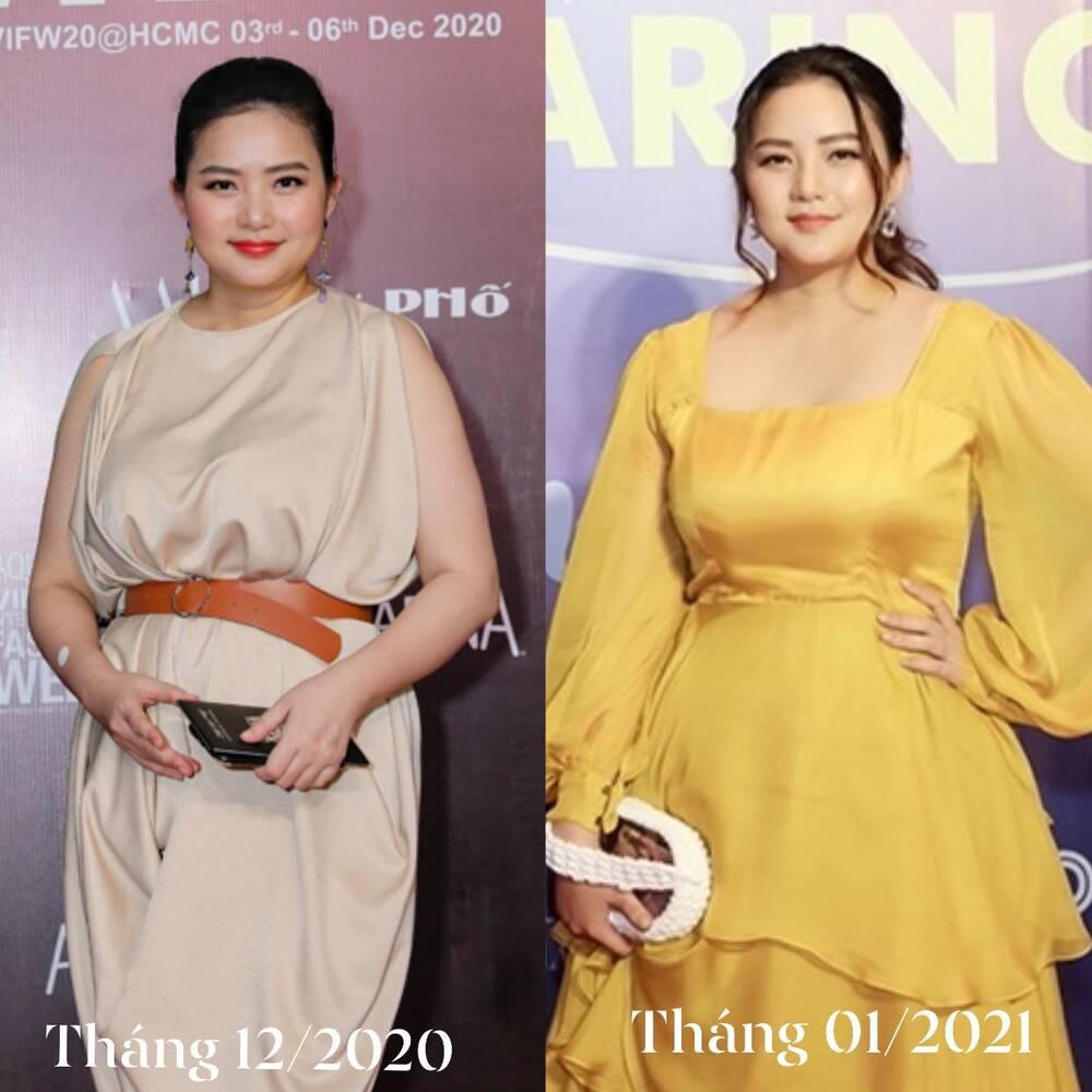 Phan Như Thảo không nhận ra mình sau 1 tháng ép mỡ, tự khen nhan sắc trẻ trung hơn hẳn-4