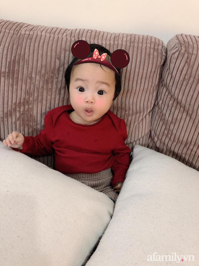 Bé gái 6 tháng tuổi mặt như tấu hài, còn khiến mẹ muốn trầm cảm luôn khi bắt chước biểu cảm quạo y chang bố-8