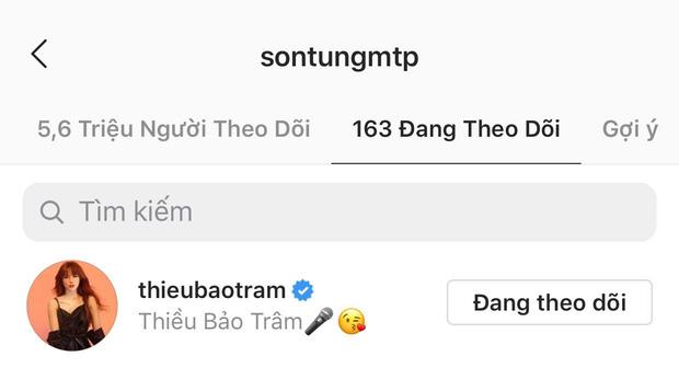 Sau Thiều Bảo Trâm, đây là cô gái Việt thứ 2 được Sơn Tùng M-TP follow và thả thính liên tục trên MXH-1