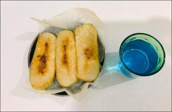 Cách rán bánh chưng bằng nồi chiên không dầu, vừa ngon, lạ miệng lại không lo ngấy sau Tết-4