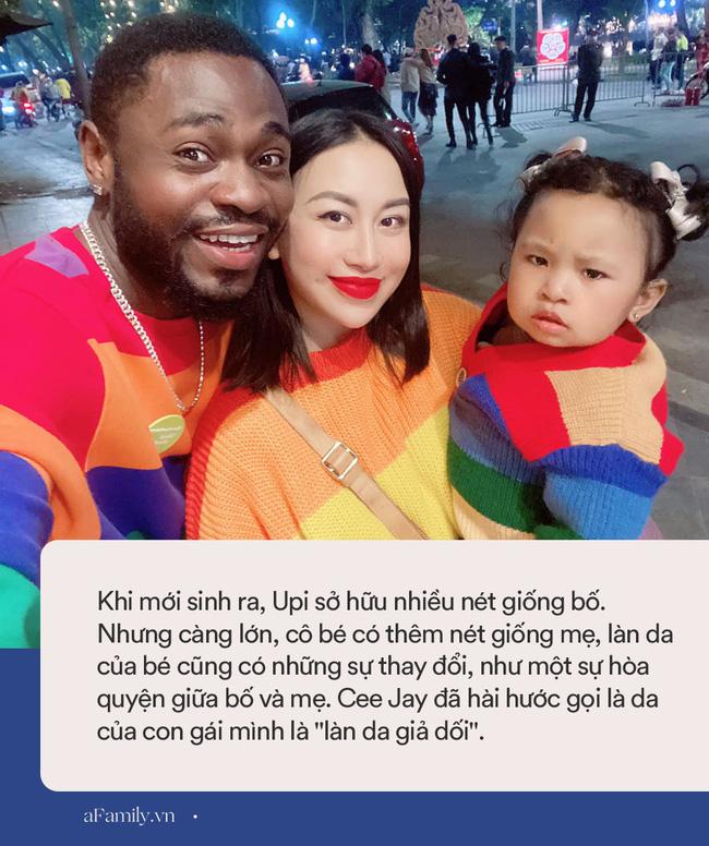 Mẹ là tiểu thư Hà Nội lấy chồng châu Phi, sinh ra con gái càng lớn càng đáng yêu, nhưng lại bị bố nhận xét là sở hữu làn da giả dối-8