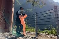 Chàng trai khoe ảnh cùng bạn gái khỏa thân đi phượt, dân mạng 'ngã ngửa' ngay khi nhìn thấy nhan sắc thật của cô nàng