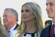 Ivanka Trump kìm nước mắt trong lễ chia tay của cha