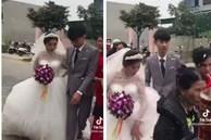 Xôn xao clip chú rể 2k3 lấy cô dâu 29 tuổi để trả nợ cho gia đình, ngày cưới mặt không thể vui, mắt rưng rưng muốn khóc?