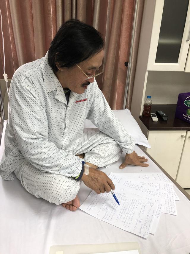 Nghệ sĩ Giang Còi xác nhận ung thư họng, đã di căn-3