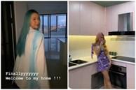 Quỳnh Anh Shyn hé lộ mọi ngóc ngách của căn hộ mới tậu: Nhìn qua cũng thấy xinh sang
