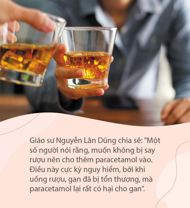 Từ vụ người đàn ông ngộ độc rượu nặng rồi tử vong, chuyên gia cảnh báo đàn ông cần chú ý dịp Tết đến-3