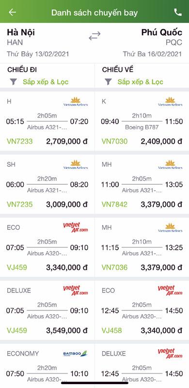 Chuyện lạ 2021: Giá vé máy bay đi chơi đắt hơn về quê ăn Tết-1
