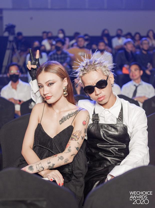 Dàn hot couple sánh vai tại Gala WeChoice Awards: Linh Rin - Phillip Nguyễn trông như vợ chồng son, Wean - Naomi bao ngầu-3