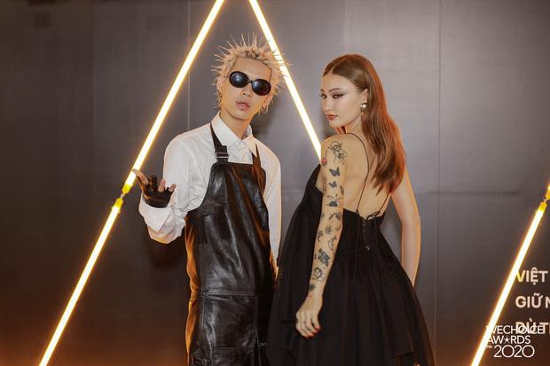 Dàn hot couple sánh vai tại Gala WeChoice Awards: Linh Rin - Phillip Nguyễn trông như vợ chồng son, Wean - Naomi bao ngầu-4