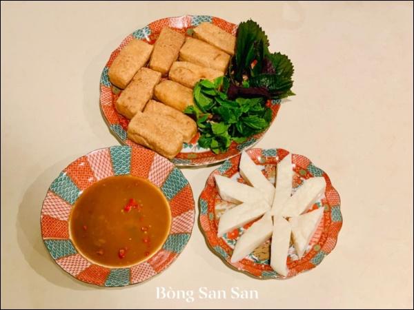 Mâm cơm Tất niên của chị đẹp San San năm đầu ở Mỹ, toàn món ngon truyền thống đậm đà hương vị quê nhà-9
