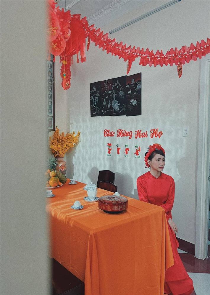 Dân mạng xôn xao hình ảnh Hoà Minzy làm cô dâu: Đã chốt sổ tổ chức đám cưới với bạn trai thiếu gia?-1