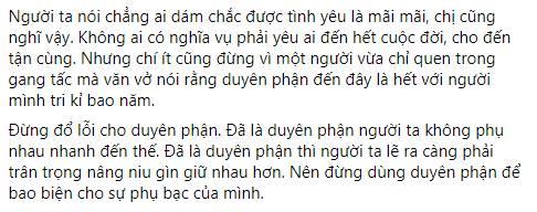 Chị em tốt của Thiều Bảo Trâm mỉa mai Sơn Tùng M-TP: Đừng dùng duyên phận để bao biện cho sự phụ bạc của mình-2
