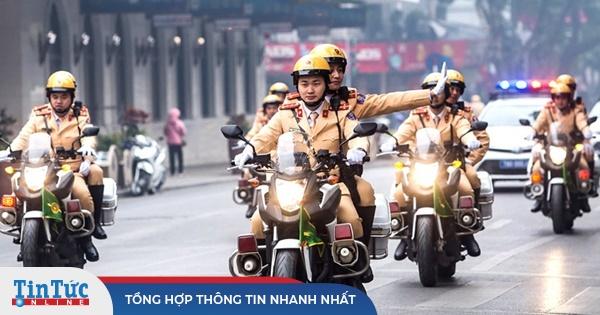 Khung giờ cấm đường phục vụ Đại hội Đảng XIII