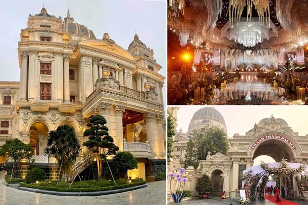 """Xôn xao đám cưới """"khủng"""" tại lâu đài dát vàng ở Ninh Bình"""