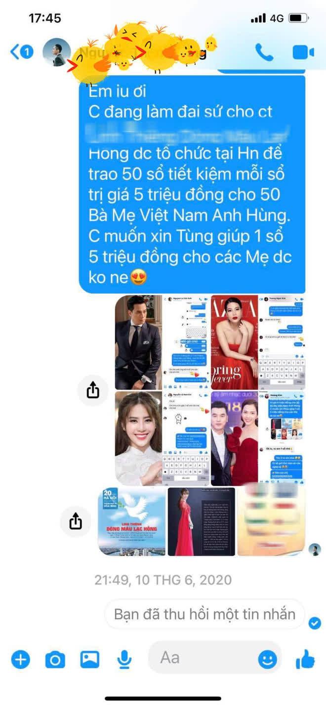 Quế Vân bóc phốt ngôi sao hạng A bạc bẽo và chảnh choẹ, kèm đoạn chat có avatar hình Sơn Tùng-9