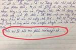 Nam sinh viết 1 dòng cuối cùng vào bài Văn mà khiến giáo viên tích ngay dấu đỏ, dân mạng đọc xong cũng phải nể phục