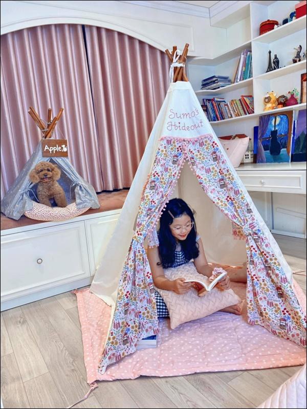 MC Diệp Chi cùng con gái dọn nhà đón Tết, hé lộ thêm không gian sống siêu xinh-10