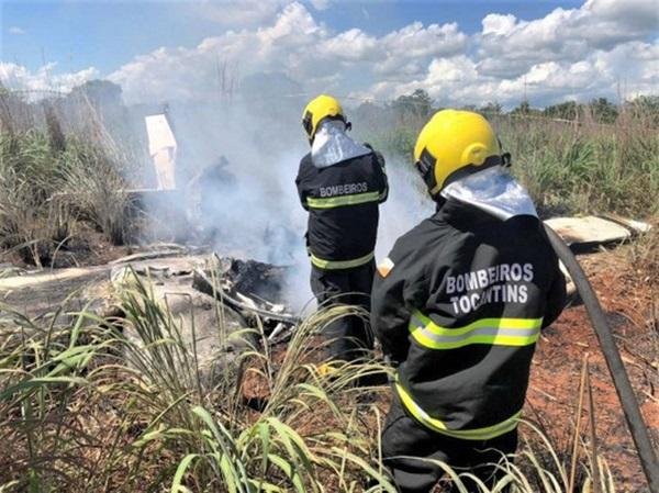 Rơi máy bay chở thành viên câu lạc bộ bóng đá Palmas của Brazil, 6 người thiệt mạng-2