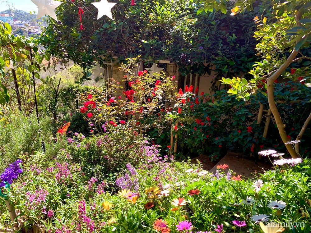 Ngôi nhà nhỏ yên bình sở hữu khu vườn đẹp như xứ sở thần tiên giữa lưng chừng đồi ở Đà Lạt-6
