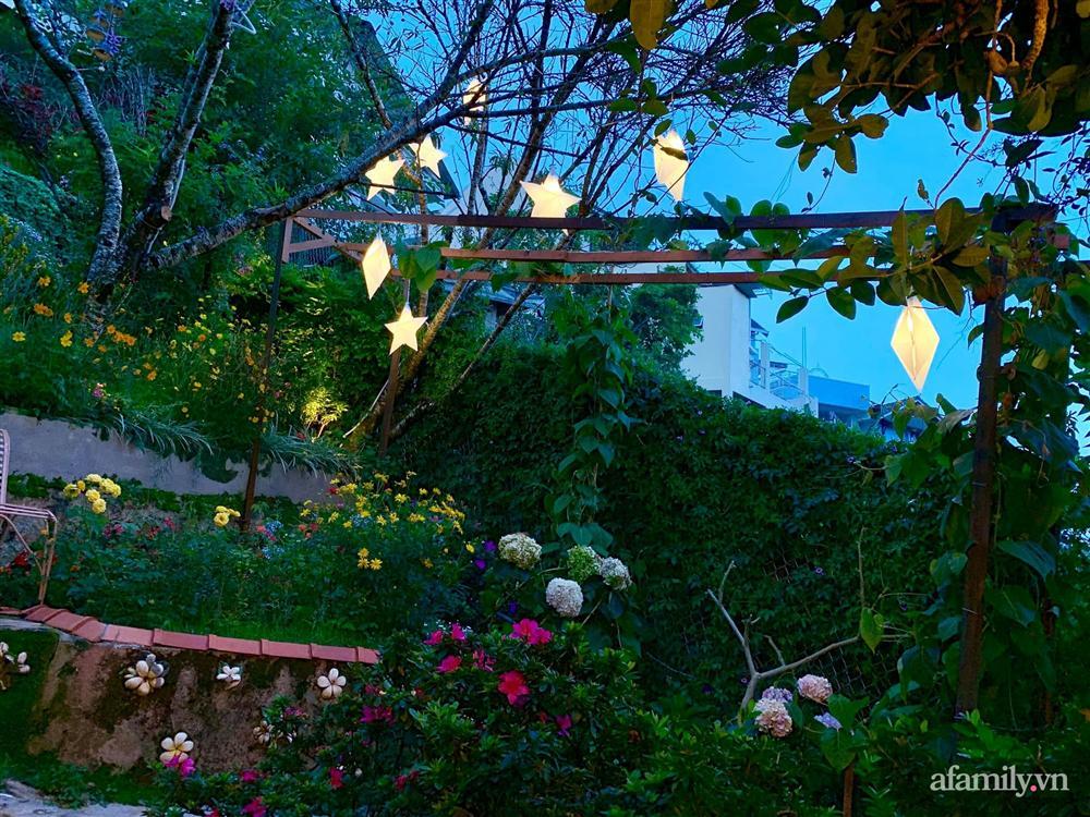 Ngôi nhà nhỏ yên bình sở hữu khu vườn đẹp như xứ sở thần tiên giữa lưng chừng đồi ở Đà Lạt-7