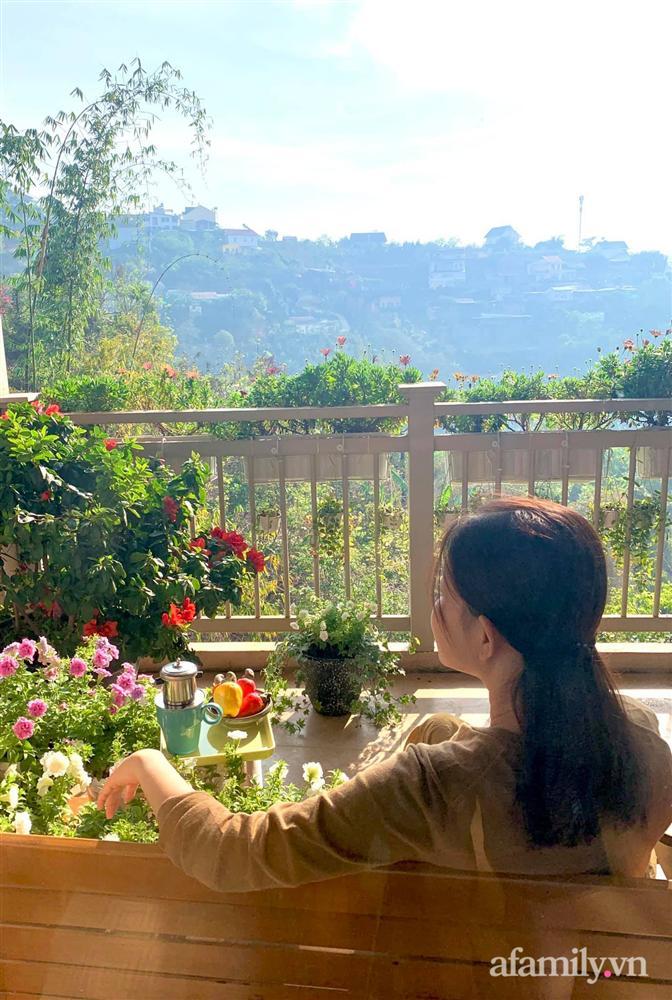 Ngôi nhà nhỏ yên bình sở hữu khu vườn đẹp như xứ sở thần tiên giữa lưng chừng đồi ở Đà Lạt-33