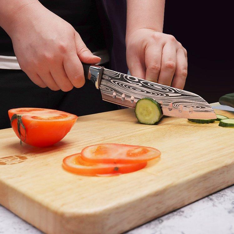 Mục đích của lỗ tròn trên dao làm bếp là gì? 9 trong số 10 người không biết, đọc ngay bài viết này để sử dụng đúng cách-4