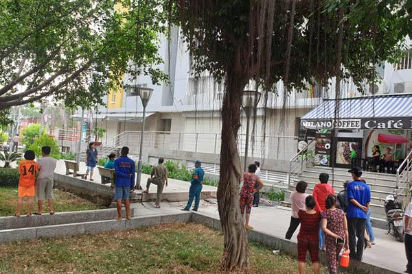 Chi cục trưởng Chi cục Thi hành án dân sự quận Bình Tân rơi lầu chung cư Carina