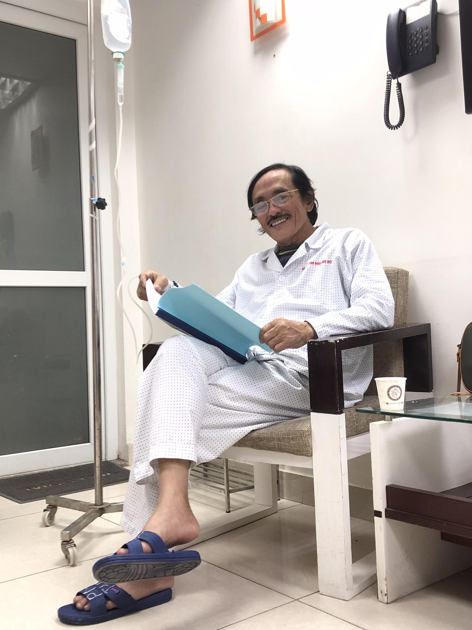 Nghệ sĩ Giang còi chấp nhận điều trị ung thư vòm họng nhưng với một điều kiện-1