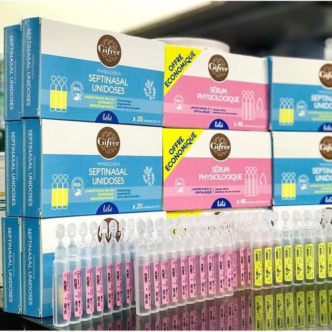 Sự thật về tác dụng kháng viêm, trị nghẹt mũi của loại nước muối sinh lý đang được các mẹ Việt đua nhau mua cho con dùng-1