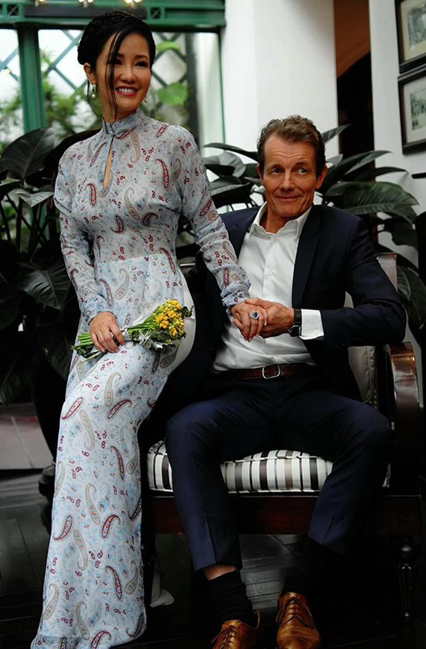 Hồng Nhung công khai sánh đôi bên bạn trai ngoại quốc, bạn trai bác sĩ có mặt trong đám cưới con gái Thanh Lam-2