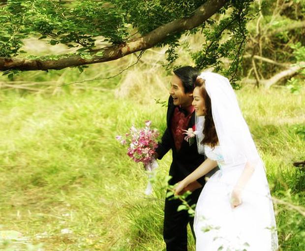Trân Đài bị đào mộ loạt ảnh cưới với Lương Thế Thành: Nhan sắc năm 18 tuổi có khác so với bây giờ?-8