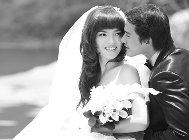 Trân Đài bị đào mộ loạt ảnh cưới với Lương Thế Thành: Nhan sắc năm 18 tuổi có khác so với bây giờ?-11