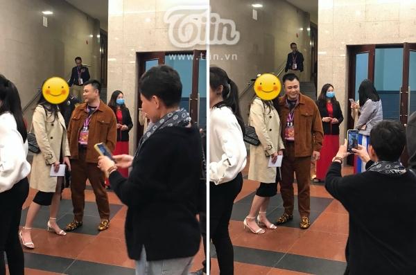 Hình ảnh Tự Long, Quốc Khánh trước giờ ghi hình chính thức Táo Quân 2021-1