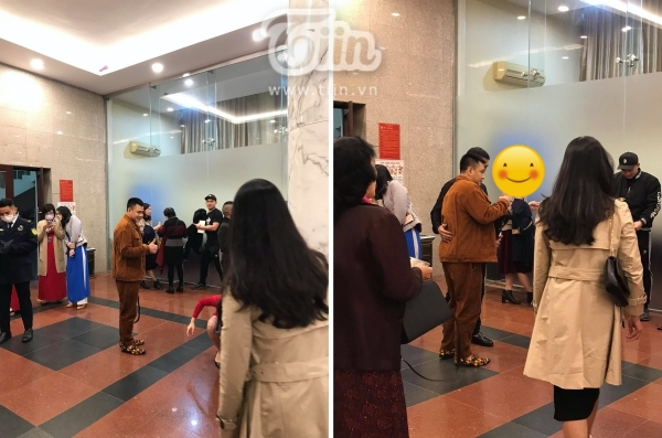 Hình ảnh Tự Long, Quốc Khánh trước giờ ghi hình chính thức Táo Quân 2021-2