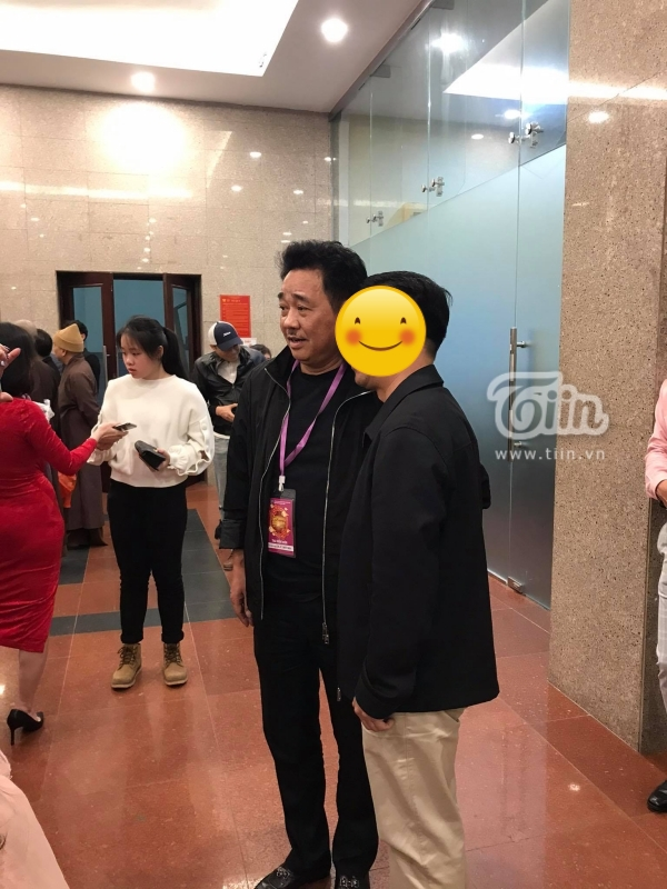Hình ảnh Tự Long, Quốc Khánh trước giờ ghi hình chính thức Táo Quân 2021-3