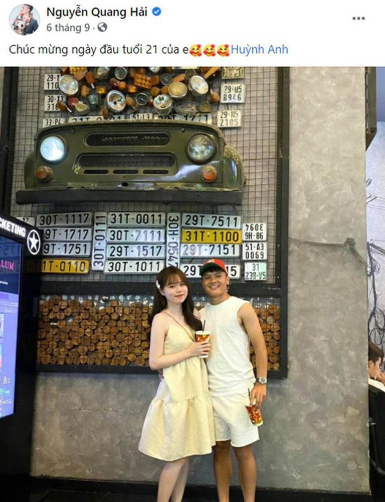 Quang Hải vừa đăng ảnh check-in ở chốn cũ, Huỳnh Anh cũng diện lại chiếc váy ngày xưa: Trùng hợp ghê-3
