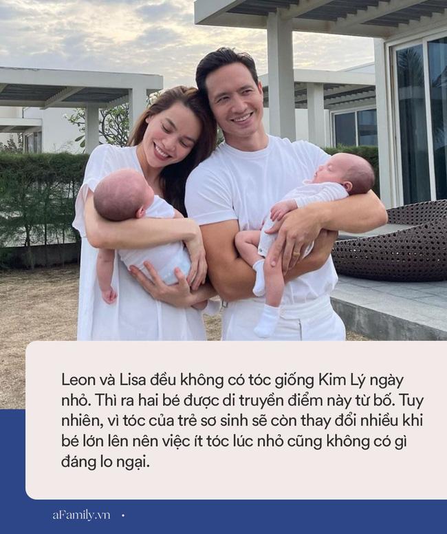 Hồ Ngọc Hà khoe ảnh Kim Lý ngày bé, hóa ra cặp sinh đôi Leon và Lisa có một điểm di truyền rõ nét từ bố-3