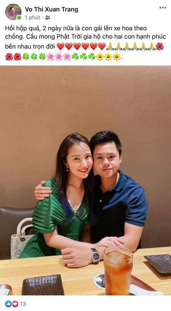 Mẹ vợ Phan Thành vô tình để lộ ngày diễn ra siêu đám cưới và mối quan hệ với con rể thiếu gia-1
