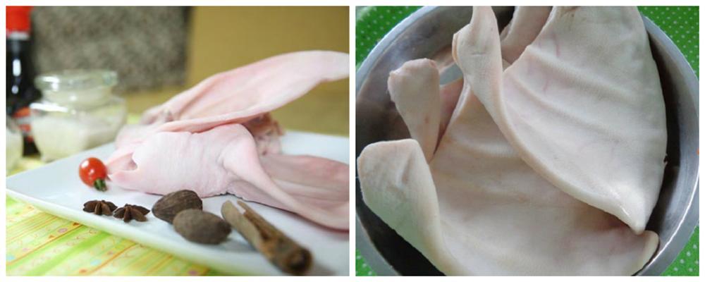 Tai heo cuộn ngũ vị: Món ngon độc đáo dễ làm cho ngày Tết-2