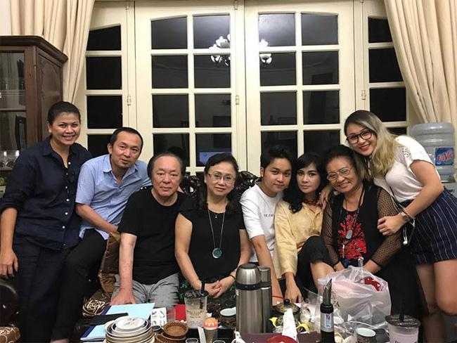 Cuộc đời NSND Trung Kiên: Luôn tự hào về cậu con trai nổi tiếng Quốc Trung, vẫn đối xử tốt với Thanh Lam dù là con dâu cũ-3